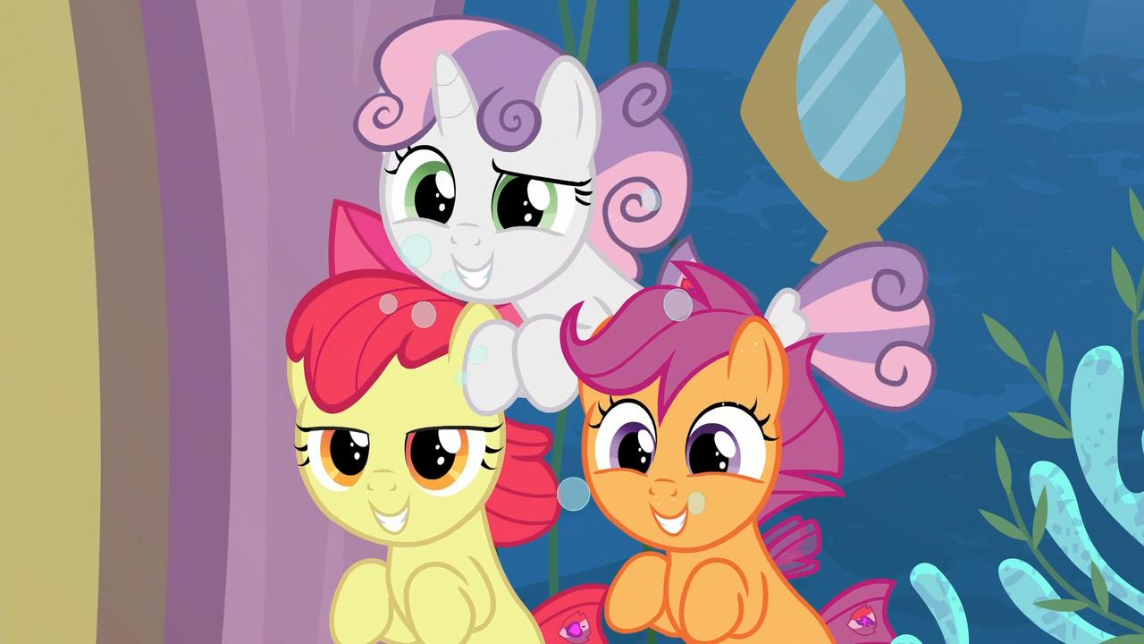 1714490 Apple Bloom Cute Cutie Mark Crusaders Discovery Family Logo Safe Scootaloo Screencap Seamc Sea Mcs Seaponi Mlp Pony Cute Ponies Family Logo Romi park (born 1972), korean. apple bloom cute cutie mark crusaders