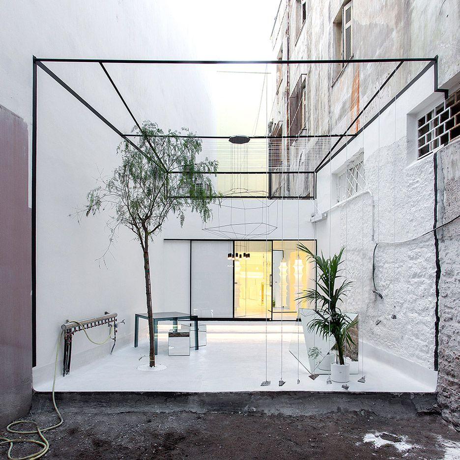 314 Architecture Studio Designs Greek Optometrist 39 S Store To Look Like A Gallery Modern
