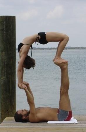 A Yoga Pose 2