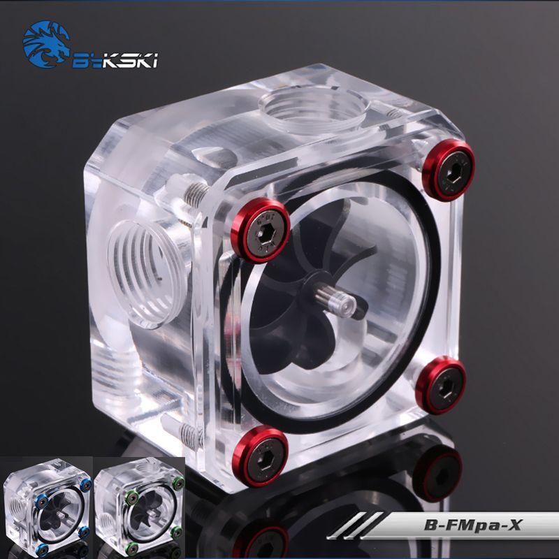Bykskiアクリル流量計g1 4スレッド水冷却システムクーラントフィルター