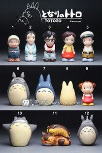 Totoro Polymer Clay Dolls Totoro Polymer Clay Projects