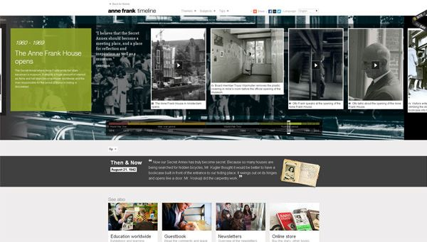 20 Gorgeous Examples Of Timeline In Web Design For Inspiration - timeline sample