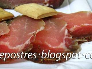Lomo de cerdo curado a la sal, Receta Petitchef