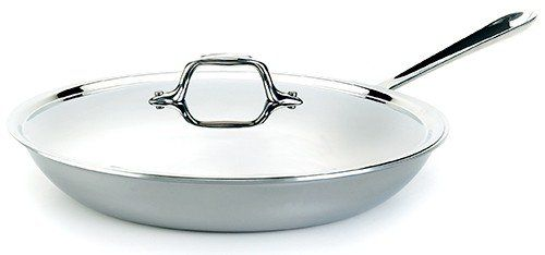 Allclad Pr551125 Stainless Steel Fry Pan With Lid 12inch For More Information Visit Image Link Dining Table In Kitchen Frying Pan Pan