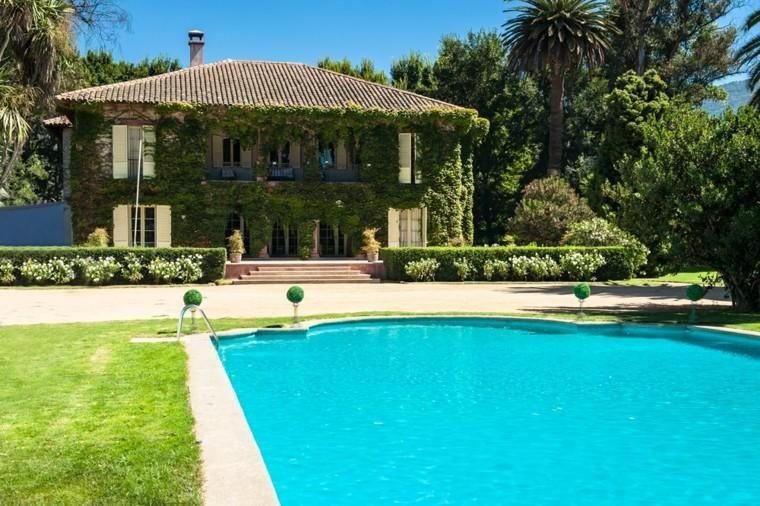 Wunderbar #Gartenterrasse Pool Im Garten: 75 Ideen, Um Den Sommer Zu Kühlen  #decoration