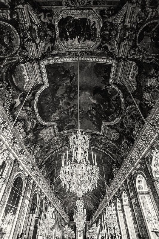 Hall of Mirrors Paris Palace of Versailles by TheWorldExplored, $25.00