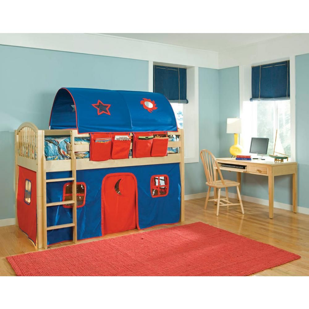 Small loft bed ideas  Mansfield Twin Kids Loft Bed Natural  Products