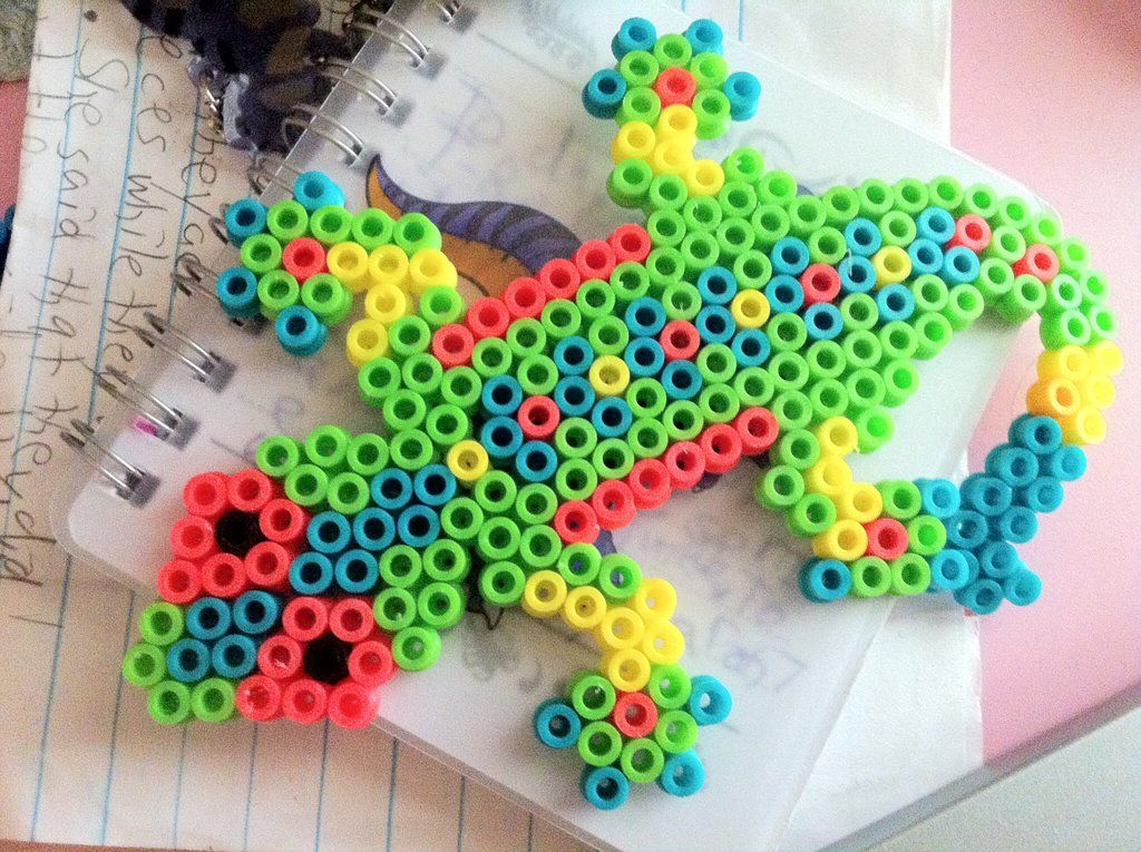 Lizard Perler Beads By Turtlelover55 On Deviantart Perler Beads In