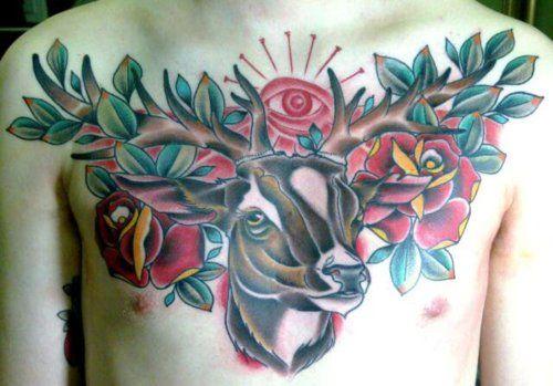 George Floyd Chest Tattoo: George Keclik From XJirkax Origin Tattoo, Czech Republic