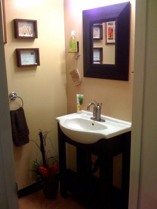 Bathroom Ideas For Small Bathrooms Under The Stairs 1 2 Bath Designs Decorating Hgtv