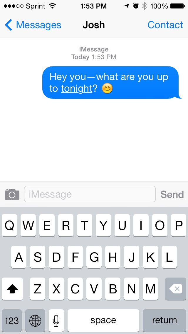 Lesbian flirty text messages