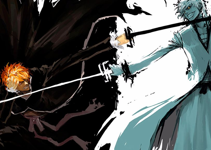 Dual Kurosaki Ichigo Art Print By Magna3 X Small In 2021 Anime Wallpaper Iphone Anime Wallpaper Anime Wallpaper Download Bleach anime desktop wallpaper