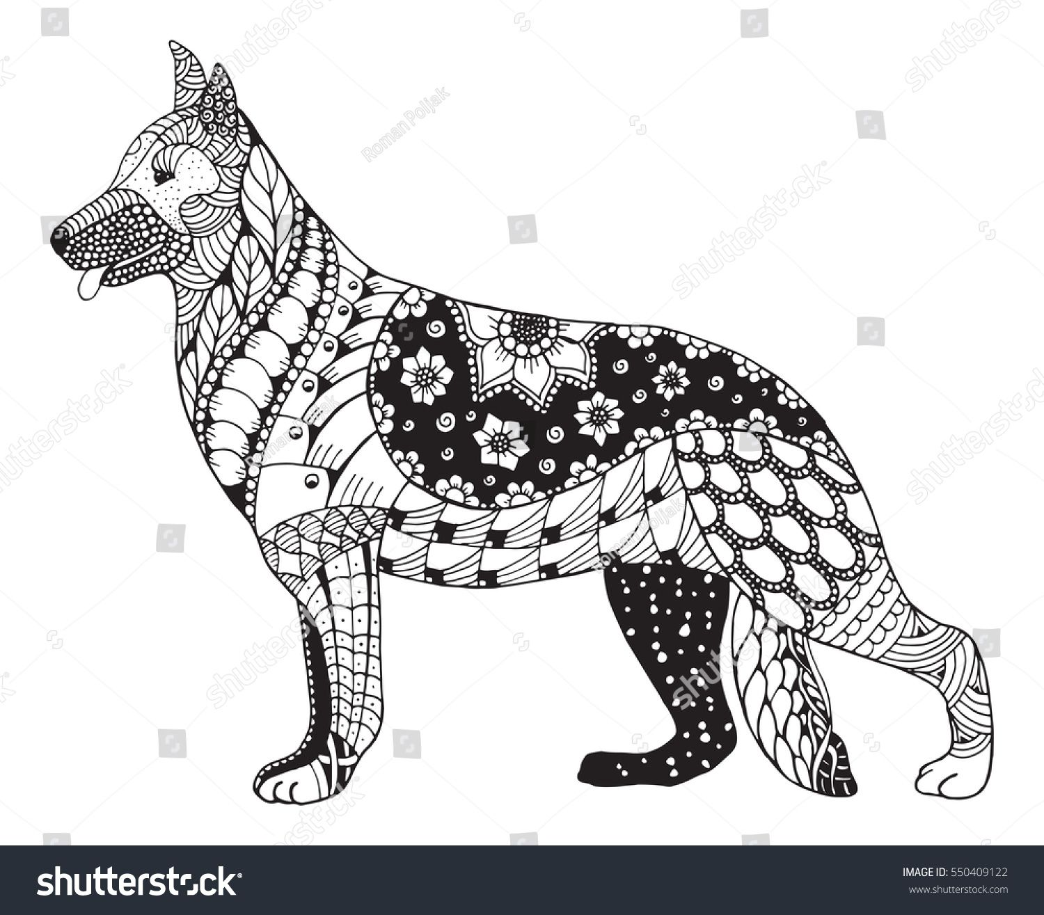 Dog Mandala Svg Saferbrowser Image Search Results Dog Coloring Book Dog Drawing Dog Coloring Page [ 1315 x 1500 Pixel ]