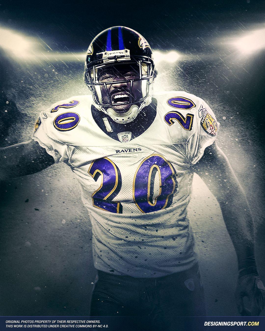 Baltimore Wallpaper: Ed Reed, Baltimore Ravens