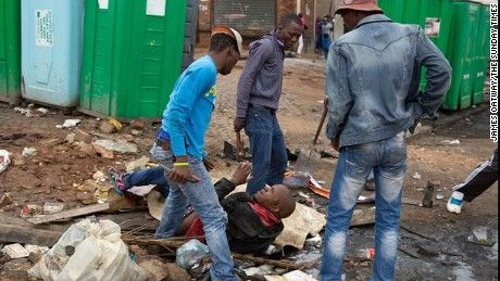 South Africa leaders took notice after James Oatway caught the horror in a wave of violence.
