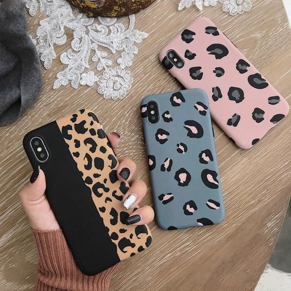 Leopard Print Phone Case Cover For Iphone XS Max XR X 8 7 6 6S Plus 11 Pro Luxury Soft Back Cases Co
