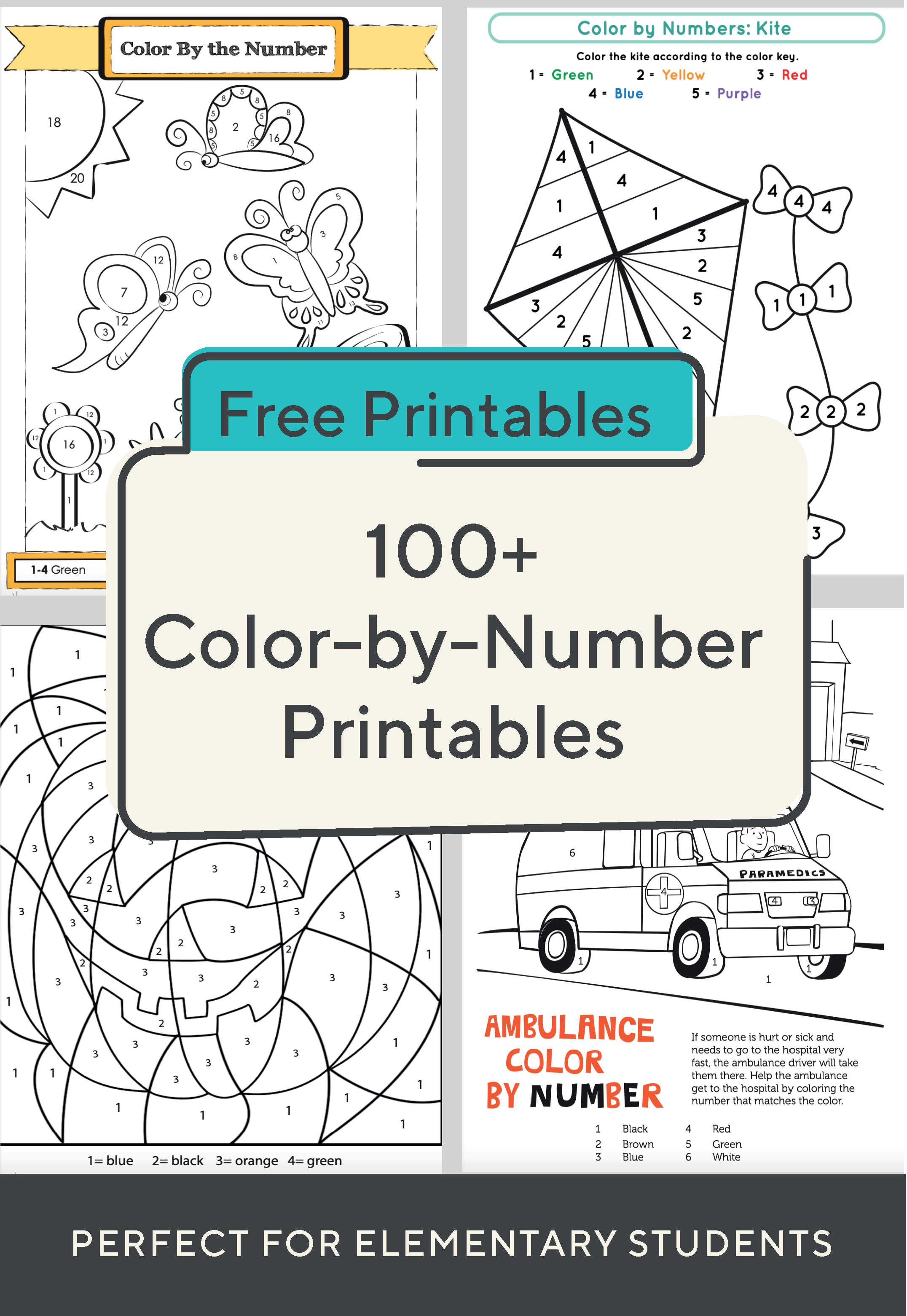 These Fun Printables Help Your Child Learn Numbers While