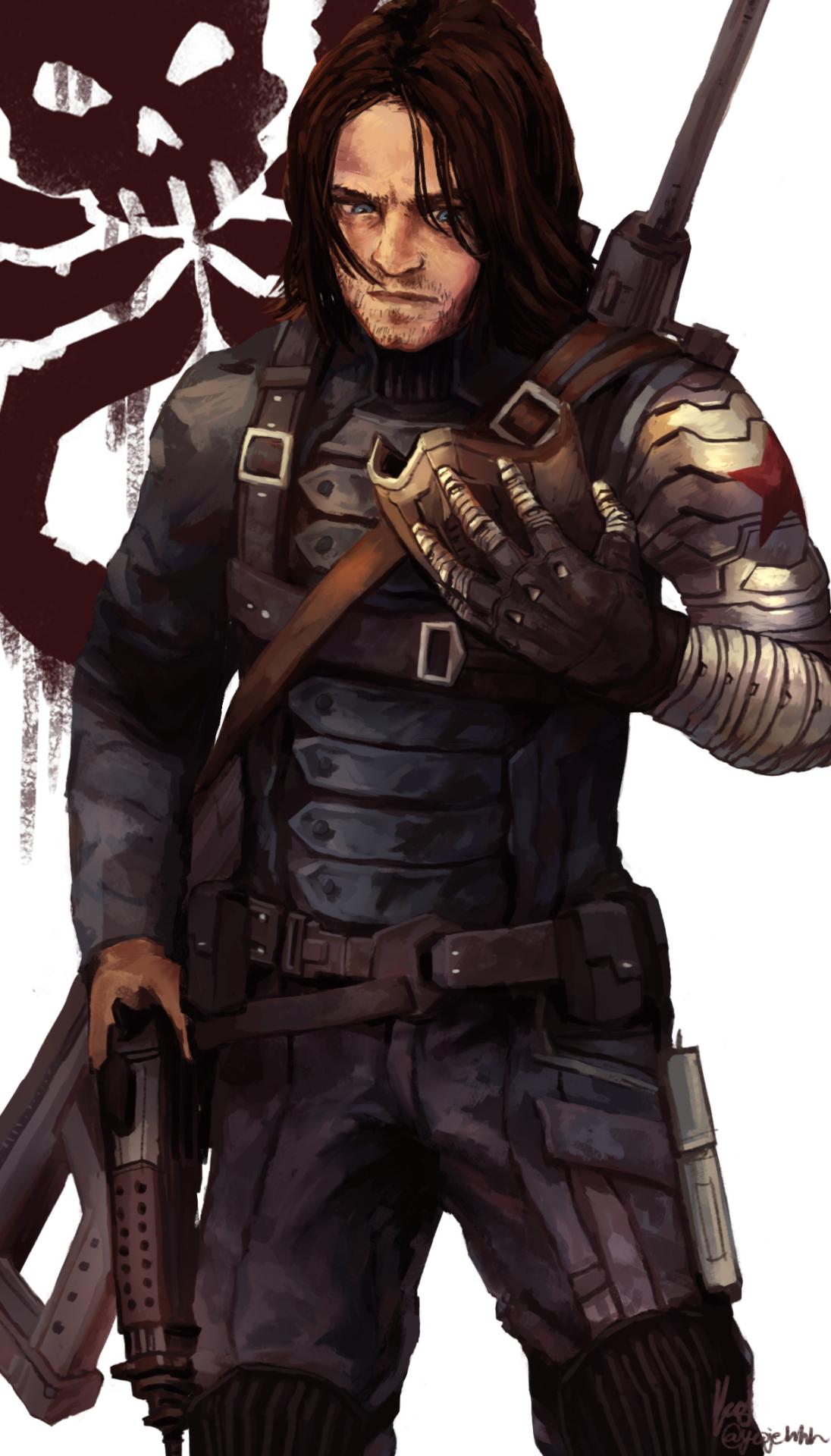 Bucky Barnes By Yeojehh Bucky Barnes Fanart Bucky Barnes Winter Soldier