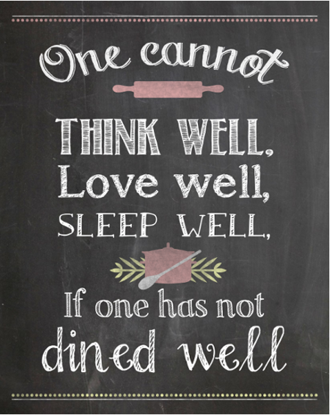 Home Decor Diy Projects Restaurant Quotes Kitchen Wall Art