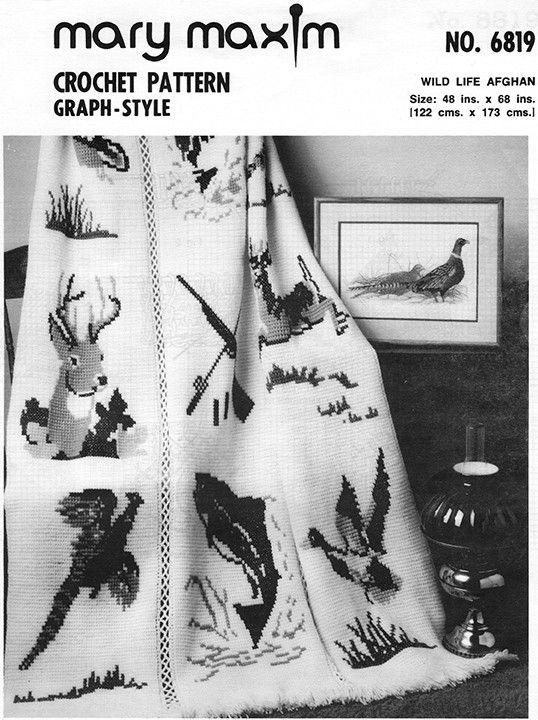 Wildlife Afghan Pattern   Pinterest