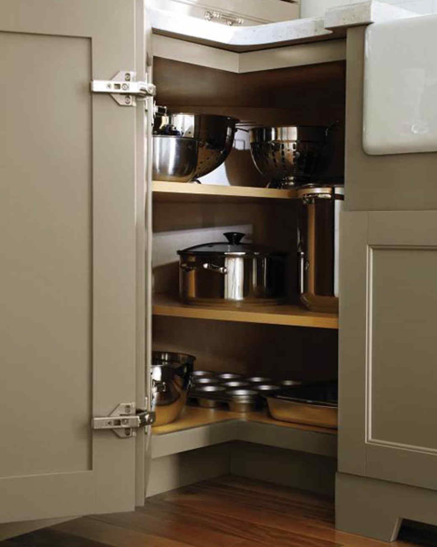 10 Kitchens That Solve The Awkward Corner Conundrum Kitchen