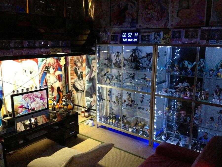 Moe wa shitsu japanese otaku 39 s room otaku pinterest for Anime zimmer deko