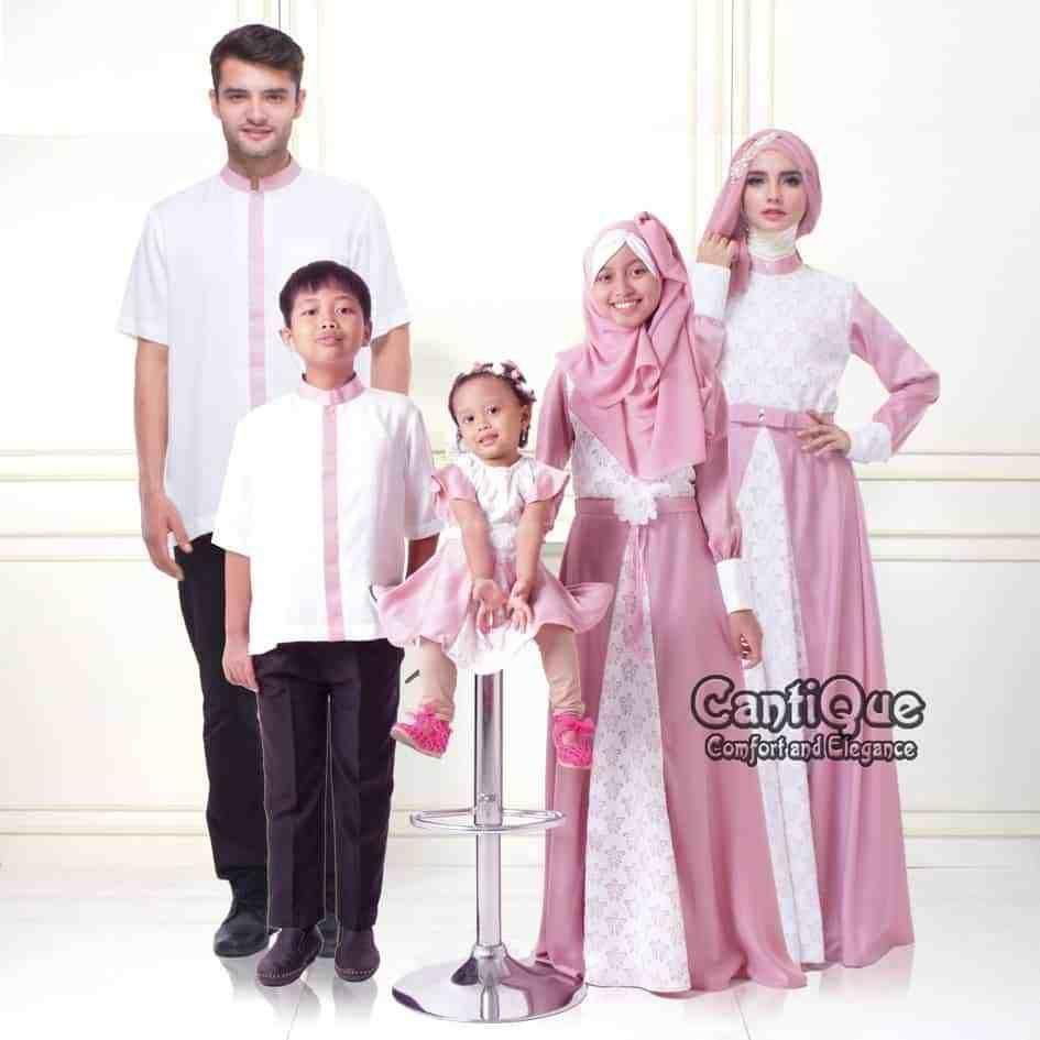 Baju Gamis Seragam Keluarga di 8  Pakaian model, Model pakaian