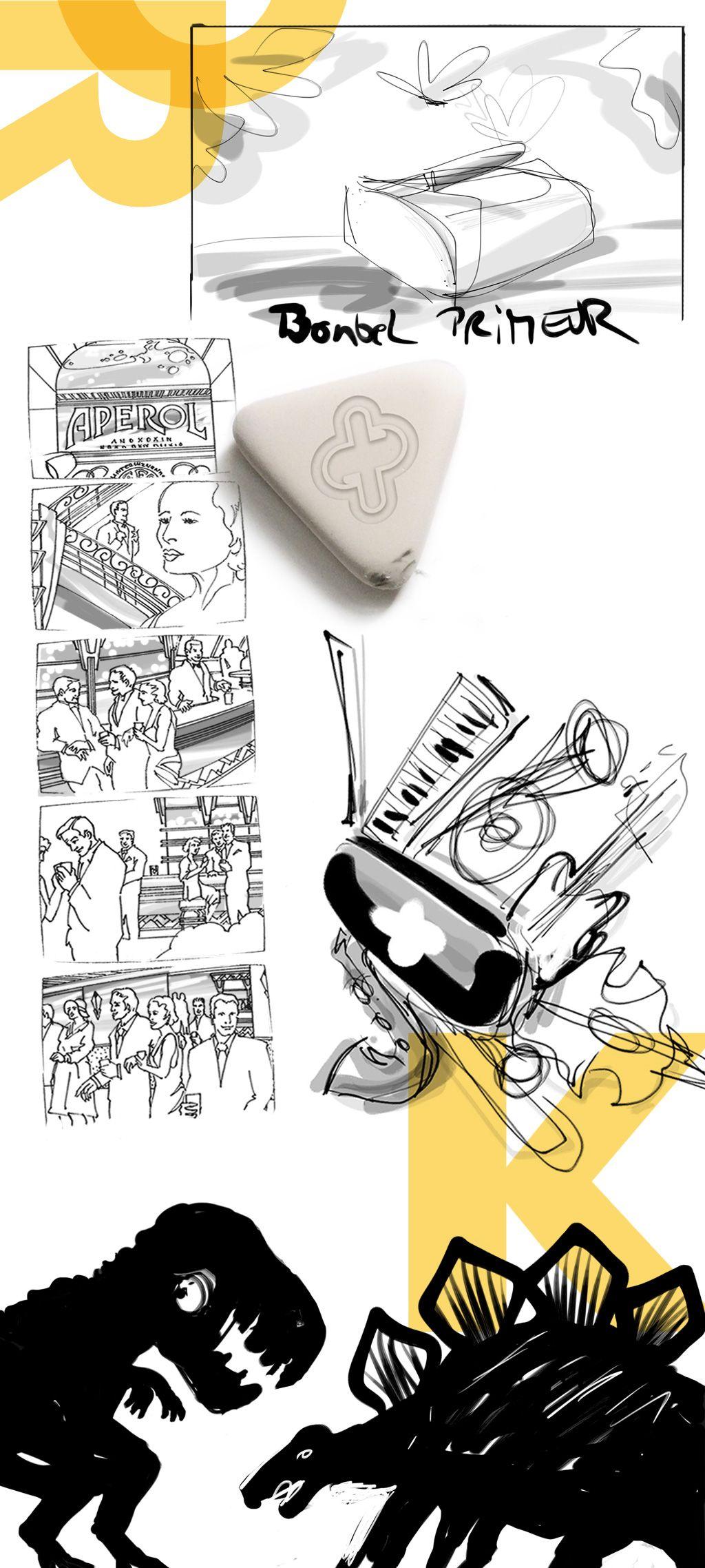 Thilo Streit Artwork Skizzen Entwrfe Ideen Character