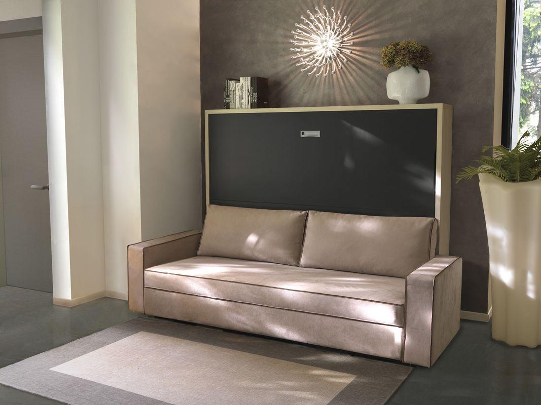 Armoire-Lit avec canapé Space | lit escamotable | Pinterest ...
