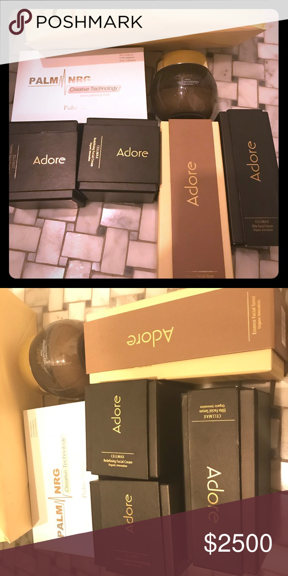 Adore Skincare Facial Cream Body Peel Facial Toner