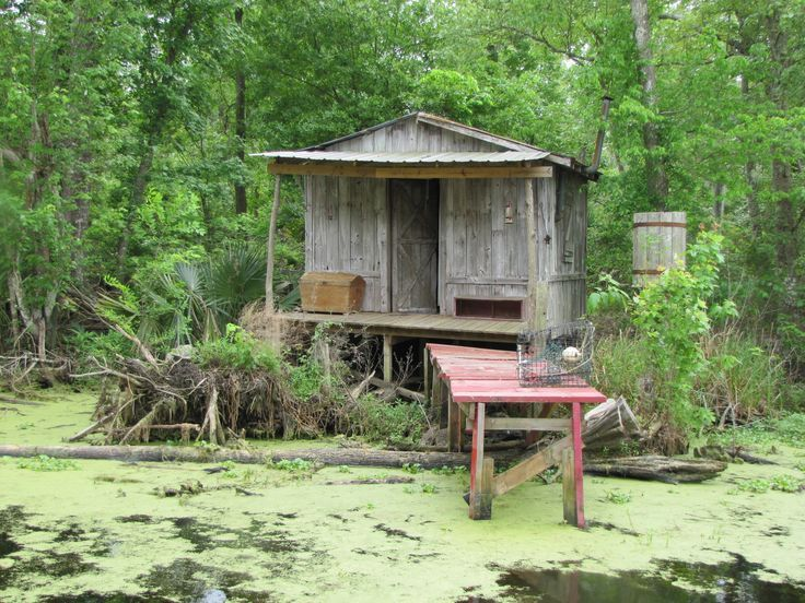 Charmant Somehow I Managed To Make It Across The Swamp To Pau0027s Old Fishing Cabin. I