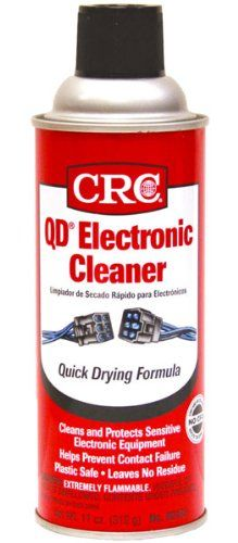 CRC QD Electrical Contact Cleaner Aerosol 12 Pack Case