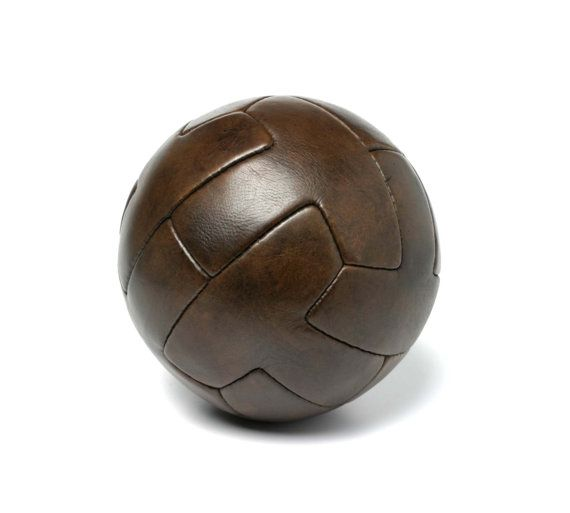 Vintage Leather T Shape 1930 Soccer Ball In 2018 Event Pinterest