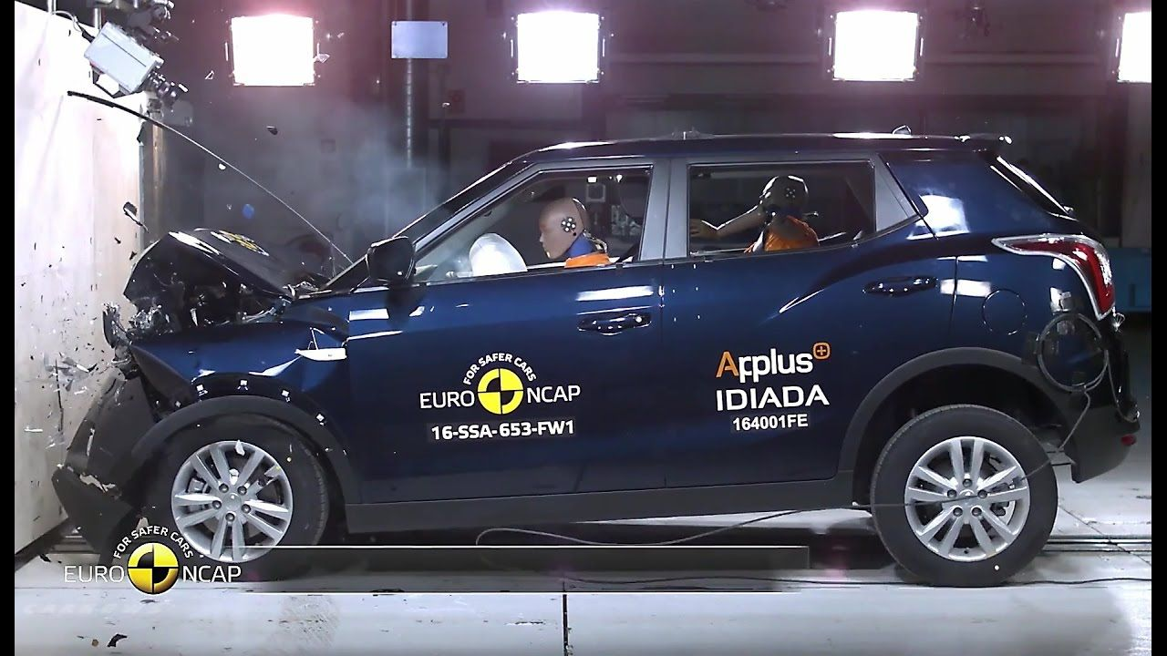 2017 ssangyong tivoli crash test today euro ncap publishes its last round of safety ratings for the audi hyundai ioniq ford edge suzuki ignis and