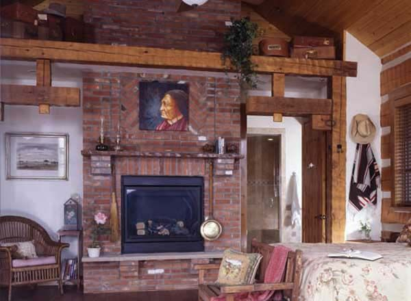 Red Brick Fireplace Decorating Ideas One Artistic Focal Point Is