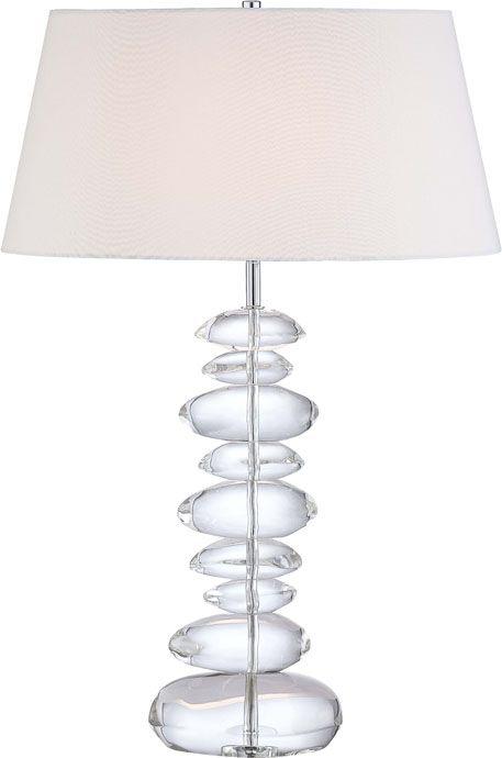 George Kovacs P725 077 Portables Tall Table Lamp 1 Light Chrome Table Lamp Lamp Chrome Table Lamp