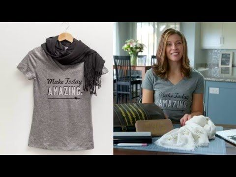 Cricut Explore Creating A Personalized T Shirt With Lettering