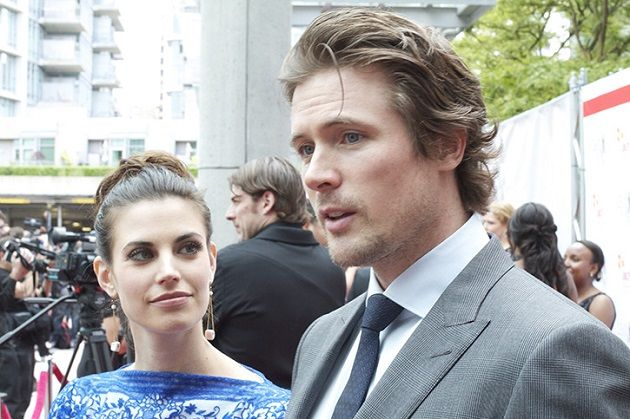 Meghan Ory with husband John Reardon. THEY'RE MARRIED IN REAL LIFE THE PERFECTION IS KILLING ME