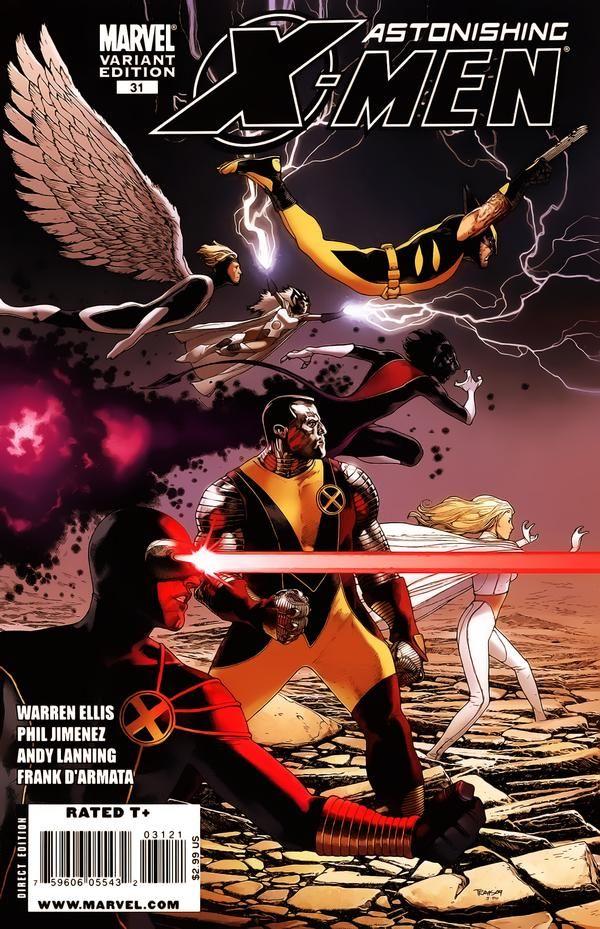 Astonishing X-Men Vol. 3 # 31 (Variant) by Travis Charest