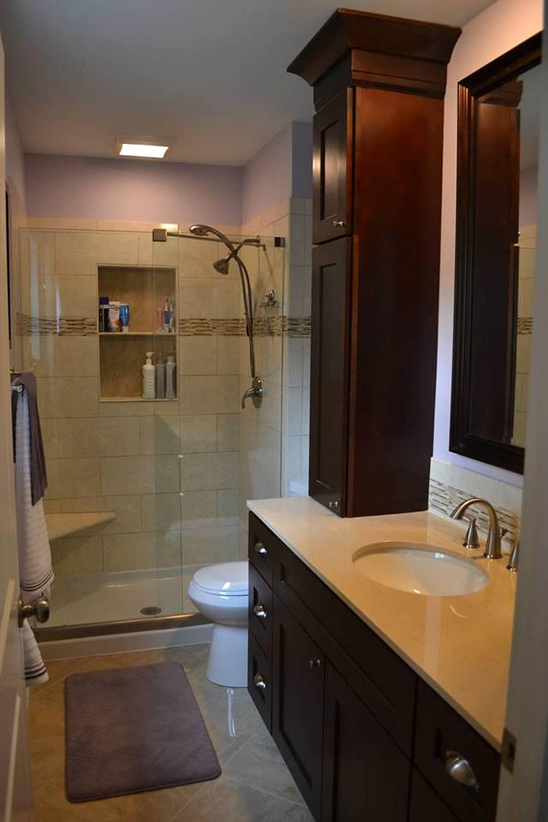 Master Bathroom Renovation: Small Master Bathroom Remodel