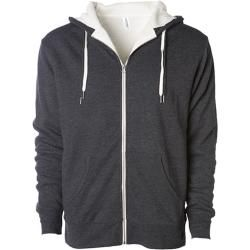 Photo of Unisex Sherpa Lined Zip Hooded Jacket | Independent IndependentIndependent