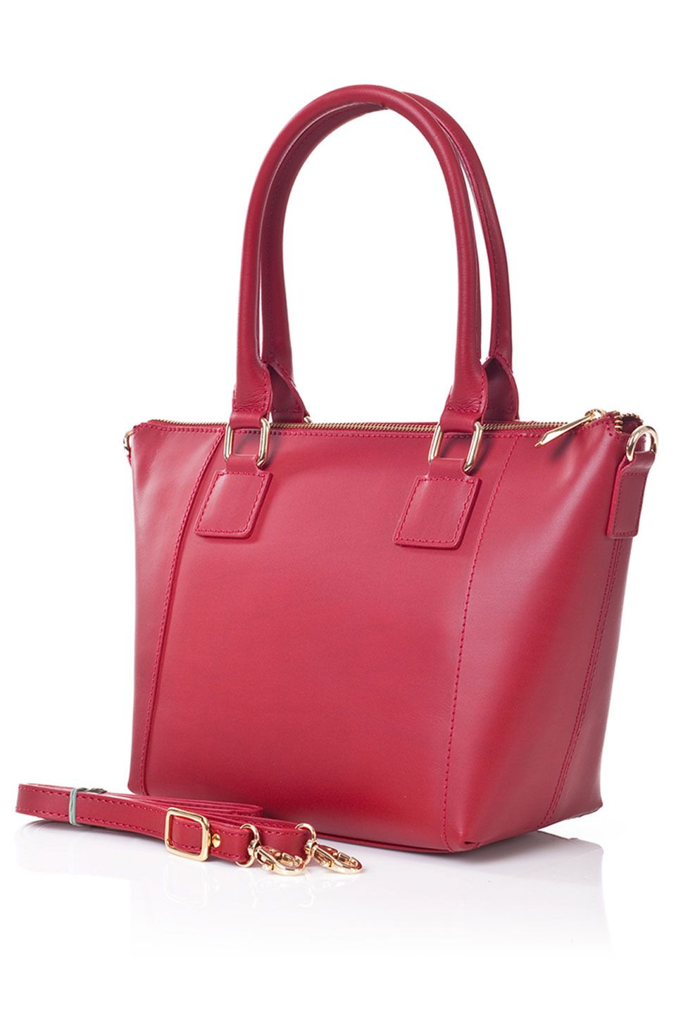 Gianni Conti Chloe Handbag In Red Beyond The Rack