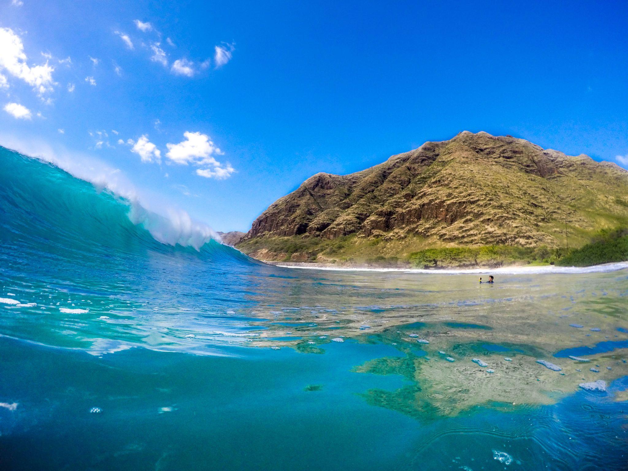 Makua Beach On Oahu Camping Secret Spots Hawaii Kauai 2017