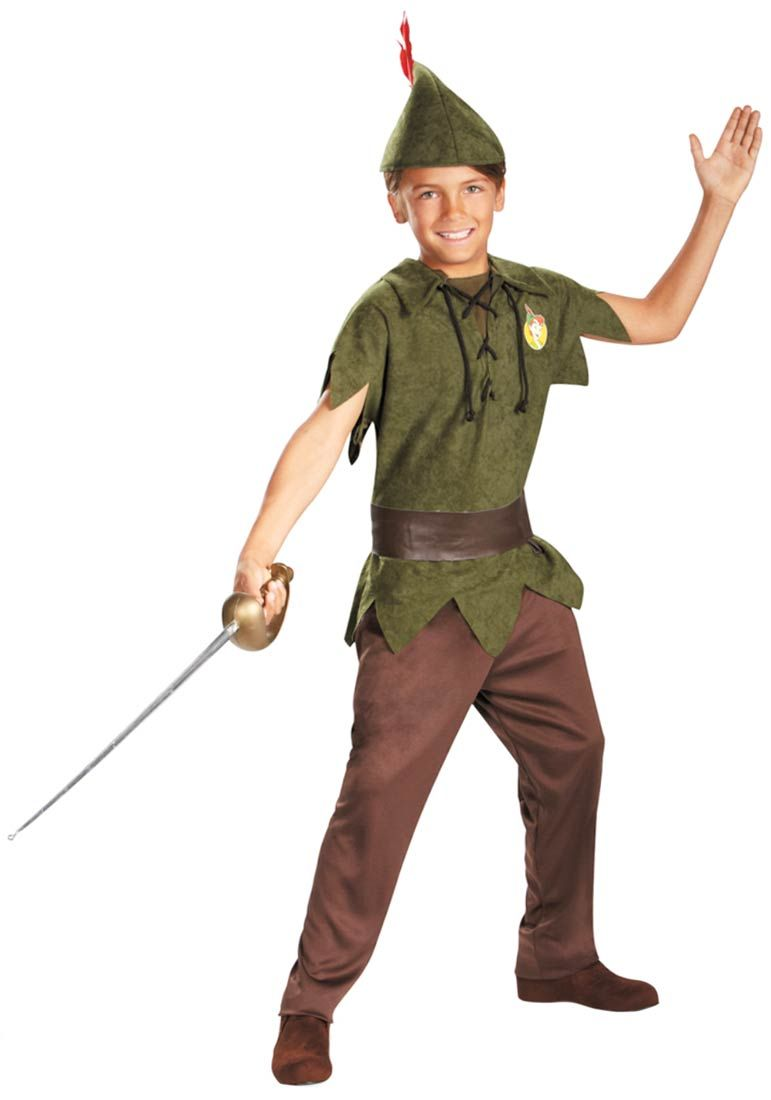 kids peter pan costume disney costumes halloween. Black Bedroom Furniture Sets. Home Design Ideas