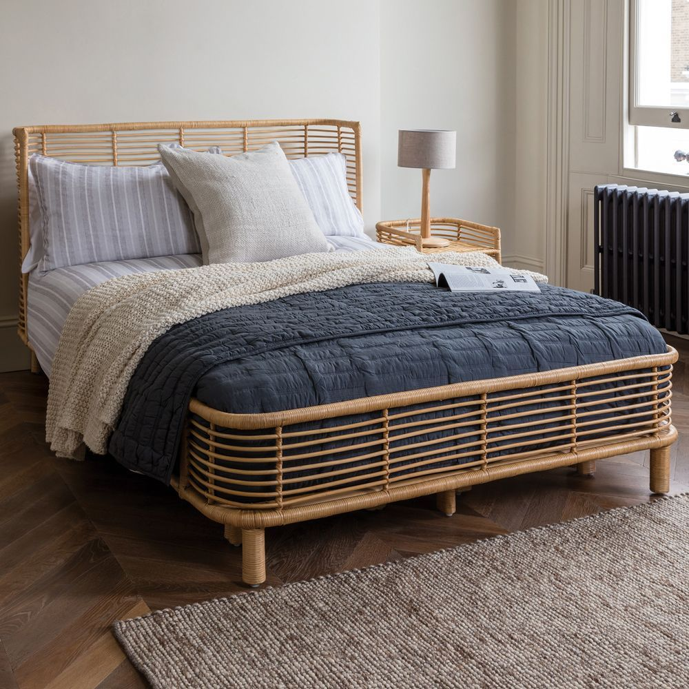 Bedroom Decor Trends To Embrace In 2018 8211 Rattan Bed In 2020