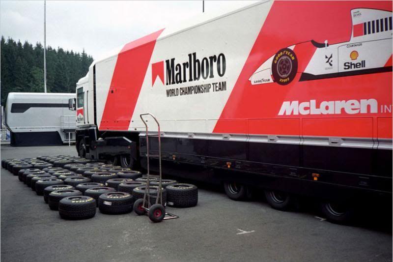 Marlboro Mclaren Transporter 1993 Spa-Francorchamps