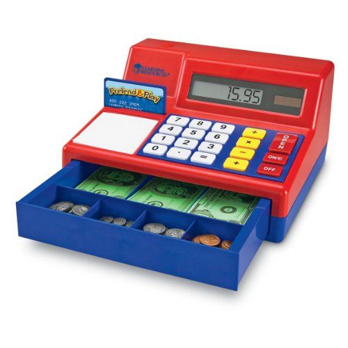 Learning Resources Pretend  Play Calculator Cash Register Kids