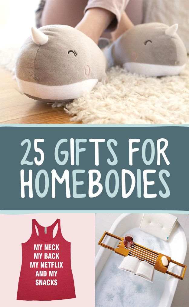 25 Delightfully Cozy Gifts For Anyone Who Hates Leaving The House #gifts