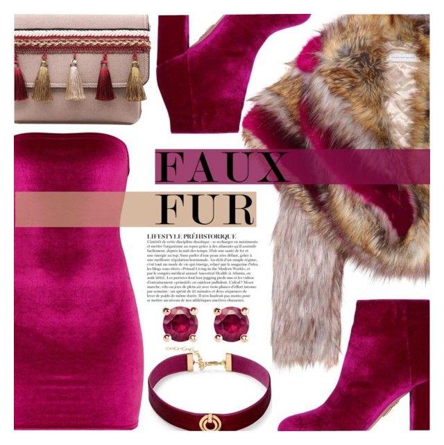 """Fab Fur (TS - 22/09/17)"" by oxhannahbananaxo ❤ liked on Polyvore featuring Dries Van Noten, Aquazzura, Anja, Thomas Sabo and Rebecca Minkoff"