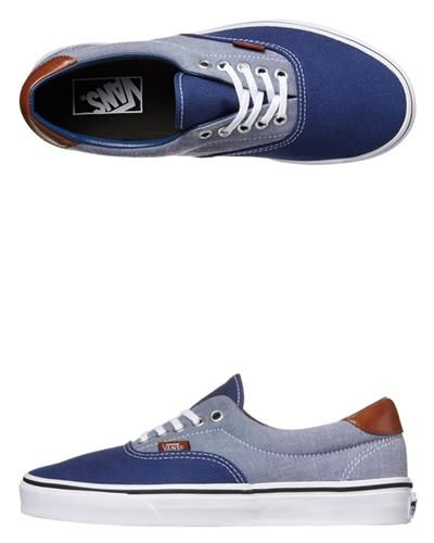 fa051876def0b5 TWO SEASONS - MENS - FOOTWEAR - SKATE SHOES - - MENS ERA 59 CANVAS   CHAMBRAY  SHOES BY VANS IN ESTATE BLUE